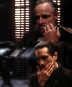 Las dos edades de Vito Corleone