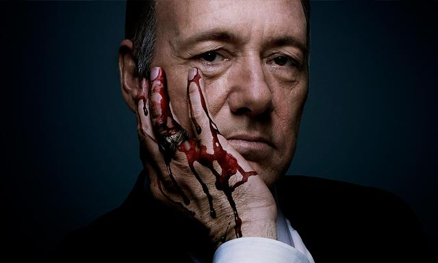 El gran Spacey es Francis Underwood, despiadado congresista